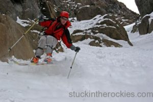 14er Ski Descents – Mount Sneffels – November 7, 2005