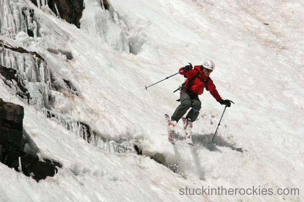 Neal beidleman south maroon peak ski descent