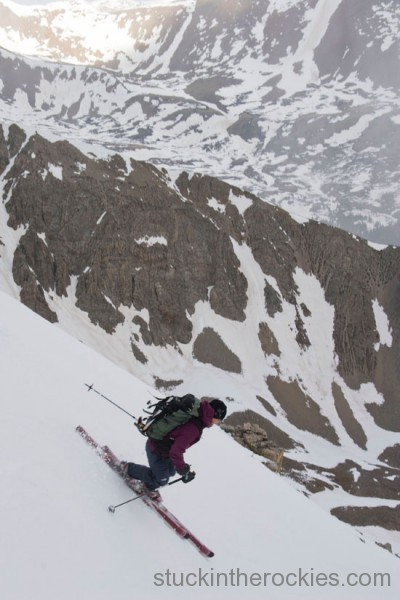 Christy Mahon ski tabeguache