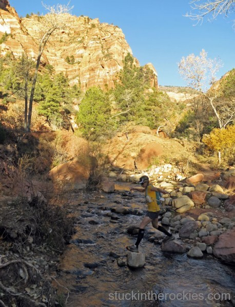 laverkin creek, zion national park, kolob canyons