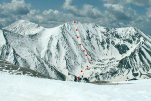 14er Ski Descents – Tabeguache Peak – May 20, 2007