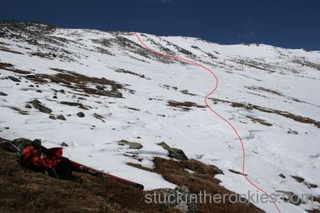 ski 14ers mount yale