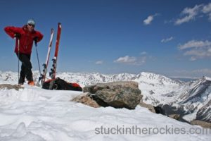 14er Ski Descents – Mount Antero – May 31, 2004