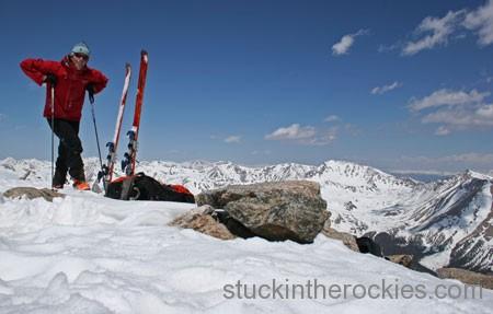 Mount Yale summit