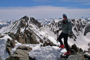 14er Ski Descents – Mount Wilson – May 19, 2004