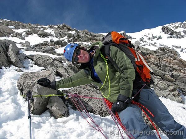 ted mahon ski capitol peak