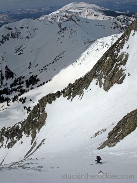 ski capitol peak ski 14ers