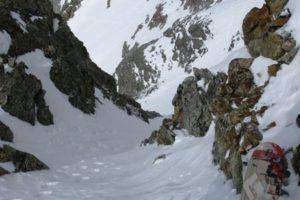 ted mahon ski 14ers capitol peak