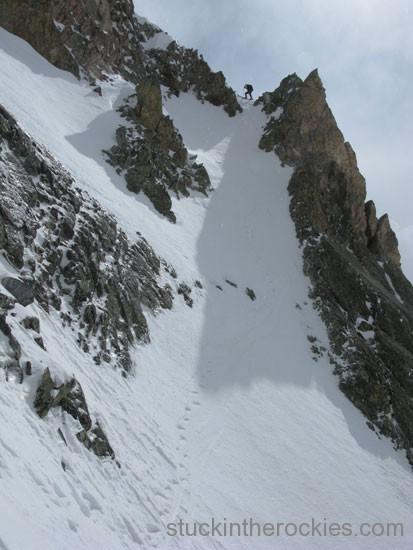 al beyer ski capitol peak