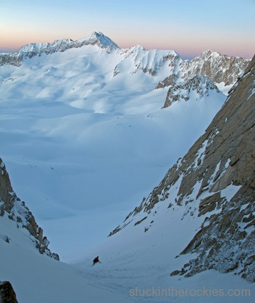 ski capitol pierre lakes basin