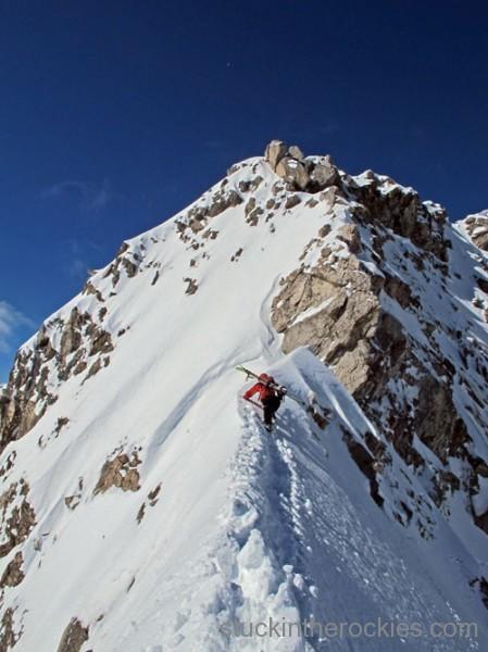 joey giampaolo ski capitol peak