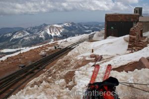 14er Ski Descents – Pikes Peak – April 20, 2005