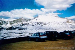 14er Ski Descents – Mount Beirstadt – May 22, 1999