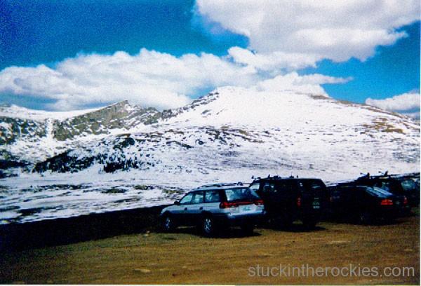 ski 14ers, ski bierstadt