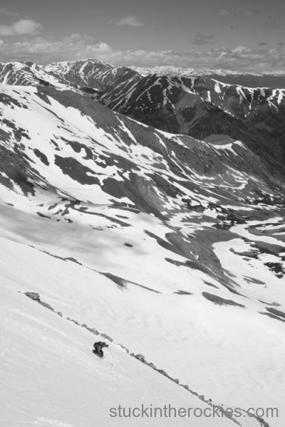 Christy Mahon, ski 14ers, miissouri mountain