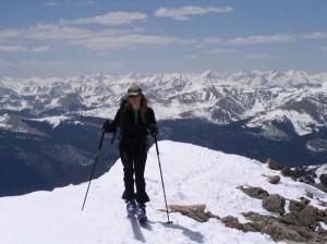 christy mahon, ski 14ers