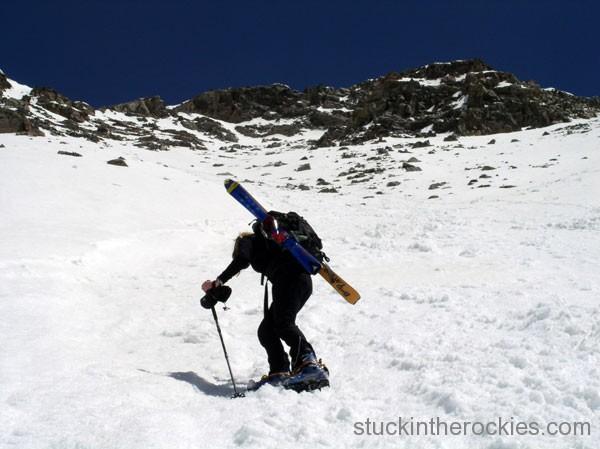 climb mount columbia, ski 14ers