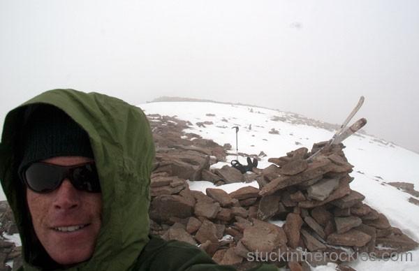 ski 14ers, humboldt peak