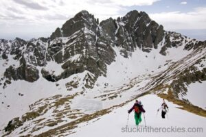 14er Ski Descents – Humboldt Peak – May 9, 2009