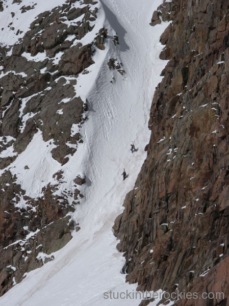 boxcar couloir mount eolus