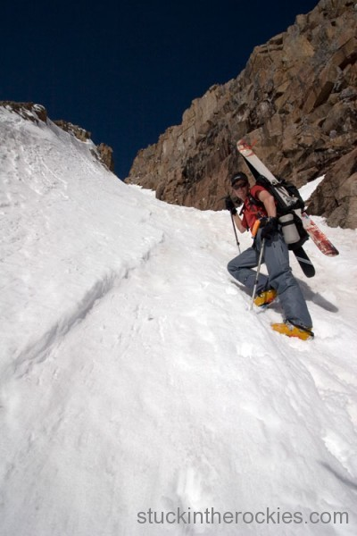 Ted Mahon Boxcar couloir mount eolus