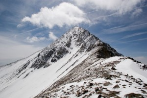 14er Ski Descents – Mount Lindsey – May 21, 2007