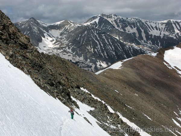North Couloir Mount Lindsey