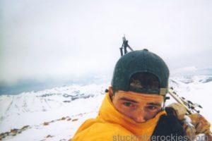 14er Ski Descents – Handies Peak – May 25, 1999