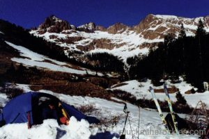 14er Ski Descents – Windom Peak – May 7, 2000