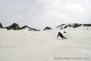 14er Ski Descents – Wilson Peak – May 20, 2004