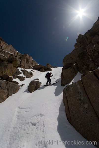 Christy Mahon ski 14ers windom peak