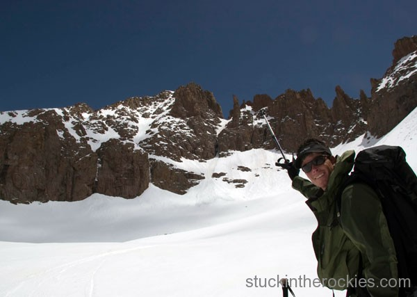 ski 14ers, needle creek, windom, chicago basin