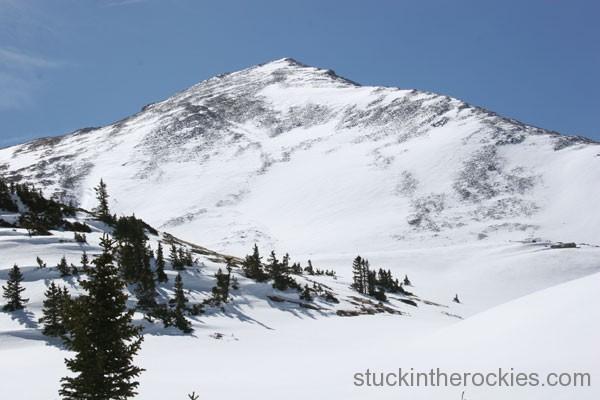 huron peak, ski 14ers