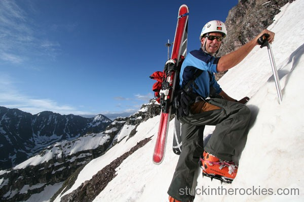 north maroon peak, neal beidleman, bellcord couloir