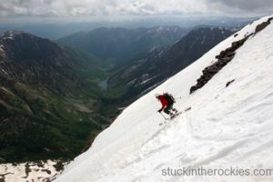 14er Ski Descents – North Maroon Peak – June 9, 2006