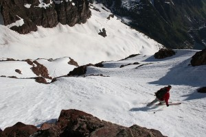 14er Ski Descents – North Maroon Peak – May 27, 2005