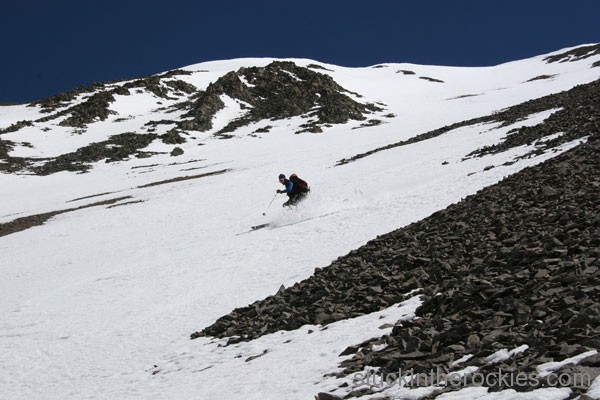 Ski San Luis Peak, yawner gullies, sean shean