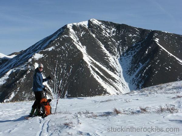 San Luis Peak, Yawner Gullies, ted mahon