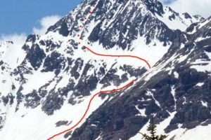 14er Ski Descents – Wilson Peak – June 10, 2007