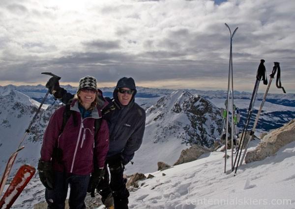 ted mahon, christy mahon, ski 13ers