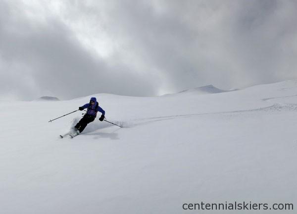 ski 13ers, atlantic peak, christy mahon
