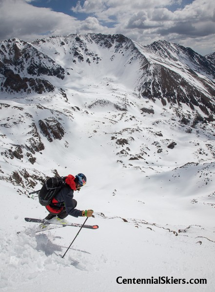 mount oklahoma, chris davenport, centennial skier