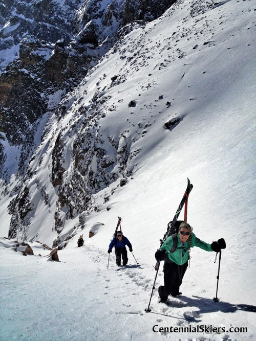 Mount Meeker, dragon egg couloir