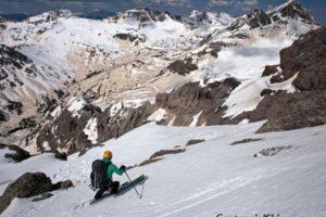 Vermillion Peak – The Vermillion Dollar Couloir