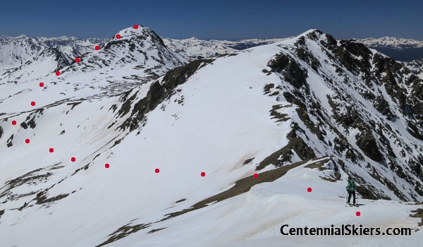 emerald mountain, centennial skiers