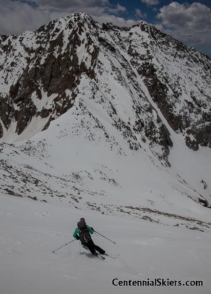 ice mountain, north apostle, centennial skiers