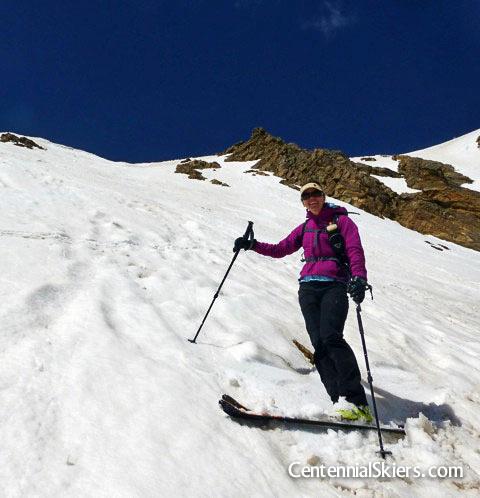 lissa ballinger, cenennial skiers, mount oklahoma
