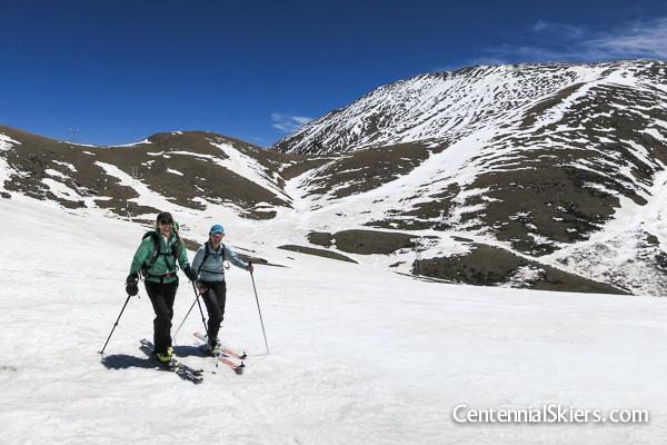 Mount Silverheels, centennial skiers
