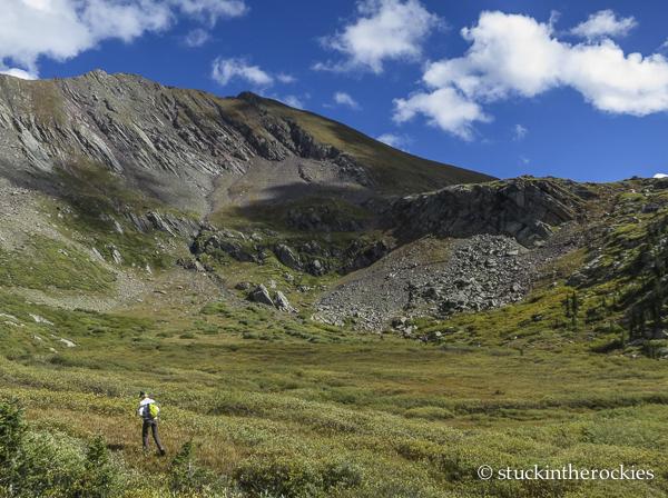 Eureka mountain, san isabel creek, christy mahon