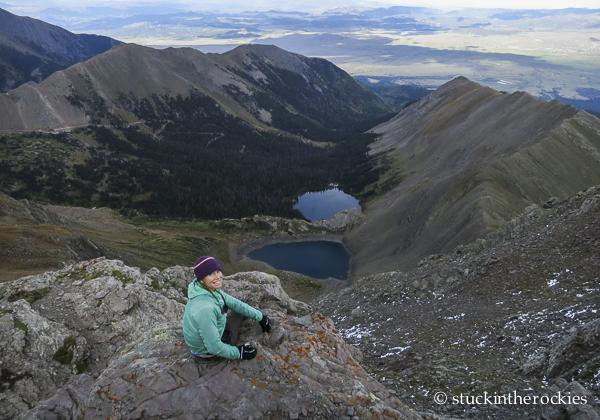 Eureka Mountain, eureka lake, hermit lake